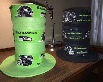 Seahawks Hat (cat in the hat)