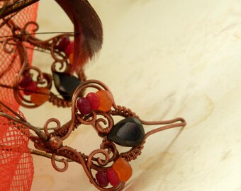 Bolcanna * volcano earrings