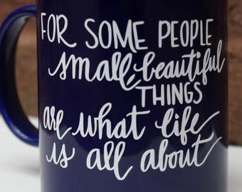 Dr Who coffee/tea mug quote-Inspiration for friends and family who consider themselves geek