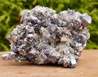 Amazing Pyrite, Galena, QUARTZ, Crystal, Mineral