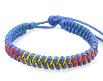 Cord adjustable bracelets