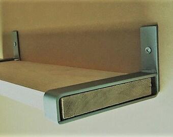 "3"" Light Belt Bracket. Hand Forged Metal."