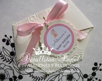 Baby shower Invitation, Diaper invitation, Baby Shower invitation, girl, Diaper Girl Invitations, invitations Baby Shower 50