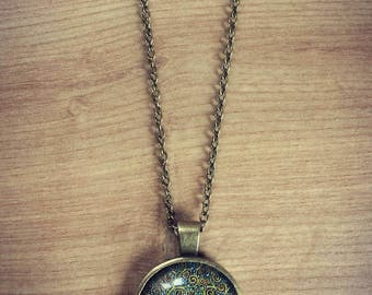 50% off ~ Bronze Tree Necklace