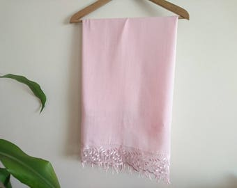 bridal cover up, Bridesmaid gift, wedding, scarf, pink, wedding gift, wedding shawl, gift for bridesmaid, bridesmaid scarf, pashmina scarf,