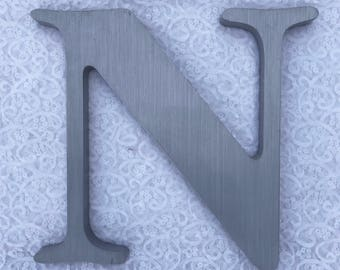 """N 12"""" metal sign letter"""