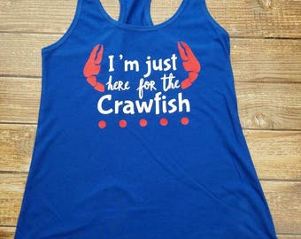 Just Here for the Crawfish Tank