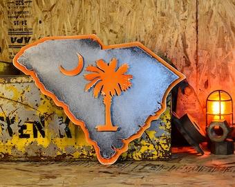 South Carolina State Emblem Orange