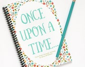 Kids Birthday Gift, Story Starter Writing Set, Children's Birthday Gift, Writing Journal