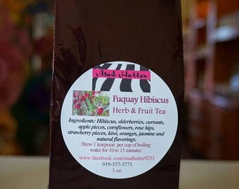 Fuquay Hibiscus Herb & Fruit Tea
