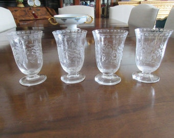 ETCHED APERITIF GLASSES