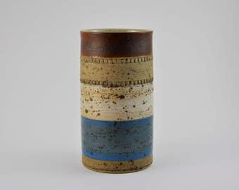gallerymichel Denby England Potters Wheel Medium Size Stoneware Vase