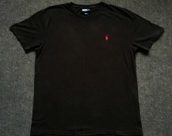 Vintage Polo Ralph Lauren Crewneck Size M Streetwear 90s T shirt