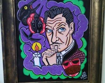 Vincent Price tribute Frame