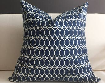 pillow cover navy blue pillow cover oliver