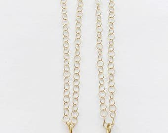Shark Tooth on Gold Fill Chain