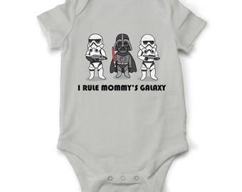 Star wars Baby boy bodysuit Mommy's Galaxy, Star Wars bodysuit, Jedi  baby clothes, Star wars baby outfit, Baby shower gift