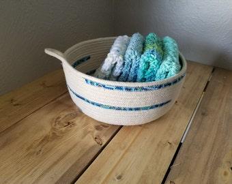 Rope Basket Dishcloth Set