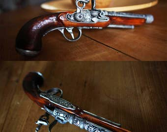 Steampunk Pirate Pistol Gun