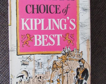 Maugham's Choice of Kipling's Best Rudyard Kipling 1953 Free Shipping