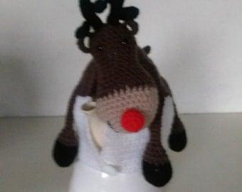 Reindeer tea cosy