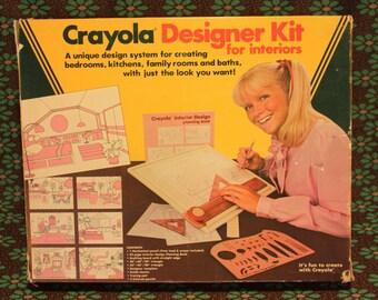Vintage Crayola Designer Kit