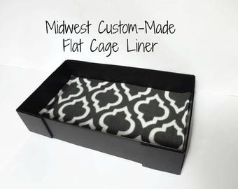 Create Your Own Midwest Flat Cage Liner - For Guinea Pigs, Hedgehogs, Rabbits, Rats, and more!