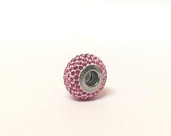 Swarovski Beads For Pandora Bracelets x1 European Beads Swarovski Charms Crystal, Pandora Style Charms for European Pandora Charm Bracelet