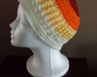 Crochet Ribbed Hats