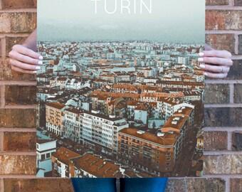 Turin, Italy Poster 11x17 18x24 24x36