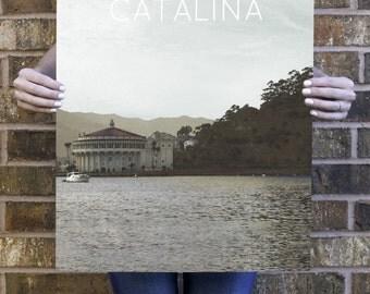 Santa Catalina Island, California Poster 11x17 18x24 24x36