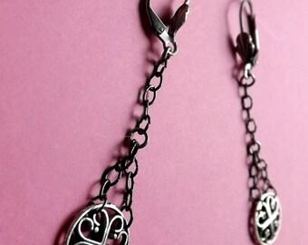 Earrings Chain Handmade Mesh