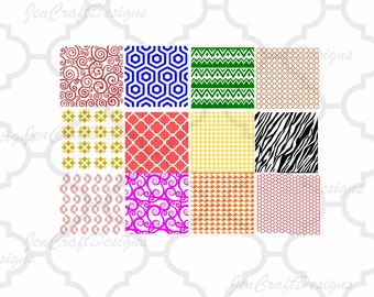Background Patterns Svg, PNG, EPS, Dxf Files, Backgroud fill svg Design Space Pattern Fill, Vector, Cricut, Silhouette Studio, Digital Cut