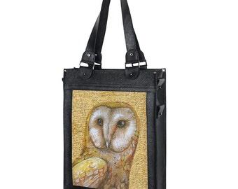 Custom bag Zipper bag Black leather bag Woman bag Leather bag Handle bag Shoulder bag Handbag Woman handbag Personalized bag Woman gift