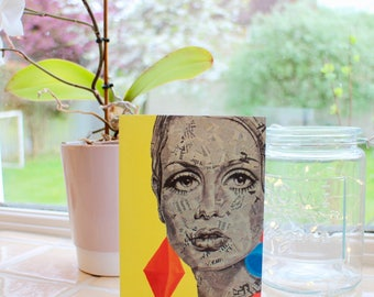 Twiggy A6 Notecard with Envelope