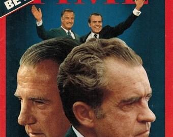 TIME CANADA ~ 1973/08/20 ~ Richard Nixon ~ Watergate