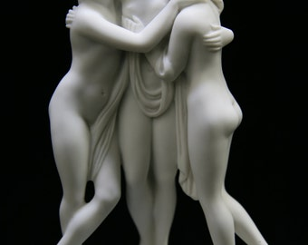"8"" The Three Graces Goddess Statue Sculpture Figurine Vittoria Collection Made in Italy Italian Art Decoration Home Decor"