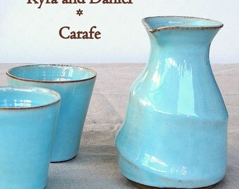 Kyra and Daniel's Wedding registry - A matte black carafe