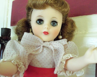 "SALE FREE SHIP. / An American Character  1950's  14""  All Original  Sweet  Sue  Doll"