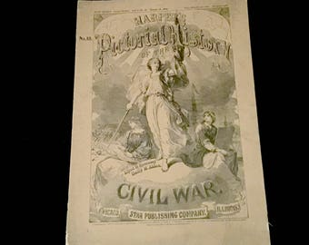 1894 Vol. 18- Harpers Pictorial History of the Civil War            VG2666