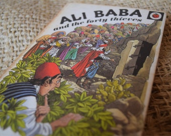 Ali Baba and the Forty Thieves. A Vintage Ladybird Book. Series 740. 1975