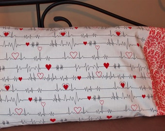 Medical~Healthcare~Doctor~Nurse~Cardiac~Pillowcase~Standard Size