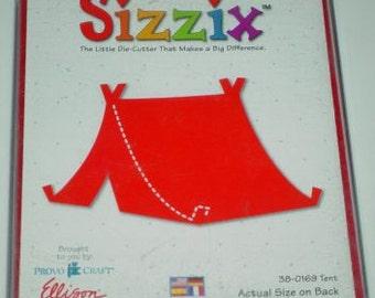 Sizzix -Large size Tent Die, - #38-0169 - NIP, Unused - PRICE REDUCTION!