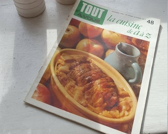 French Vintage Cooking Magazine / Tout a Vous / 1970's