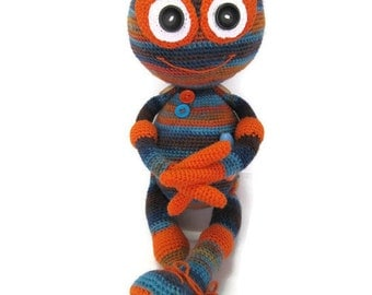 Soft doll crochet Monster toy Plushies monster crochet toy nursery baby gift for boy monster doll stuffed alien toy kids gift children gift