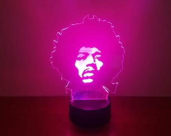 Jim Hendrix LED Lamp