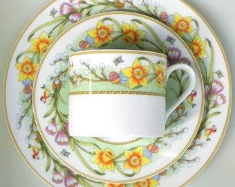 Tirschenreuth Bavaria Easter Porcelain-Coffee cover-prima Vera-Easter motif