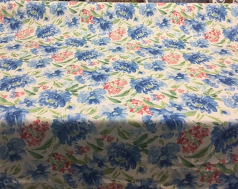 Waverly Spring Forth Bluebell Floral Fabric By The Yard