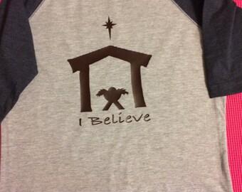 """Manger Scene """"I Believe"""""""