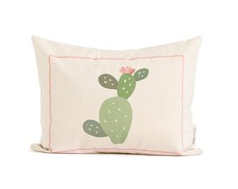 Cactus Pillow, Succulent Green Cactus, Cacti Cushion, Decorative Throw Pillow, Housewarming Gift, Throw Pillows, Home Decor